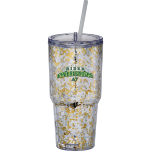 Hot & Cold Celebration Tumbler - 24 oz