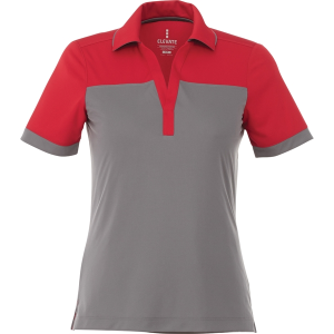 Funerale Altoparlante asciutto  Women's Mack Short Sleeve Polo | Walker Advertising Inc. - Event gift ideas  in San Antonio, United States